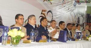 El acto fue encabezado por el Ministro de Defensa, teniente general Rubén Darío Paulino Sem, E.R.D. Fuente externa.